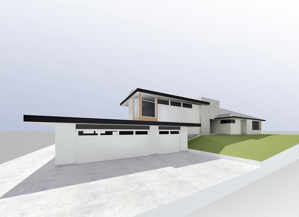 contemporary addition + renovation / fullerton