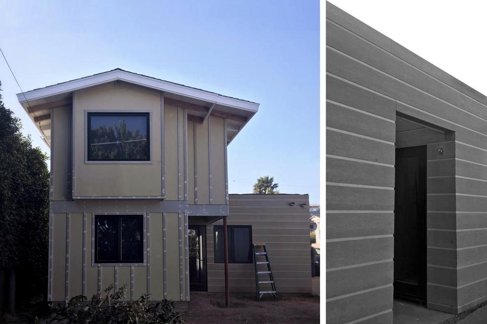 addition at rear / dana point modern cottage