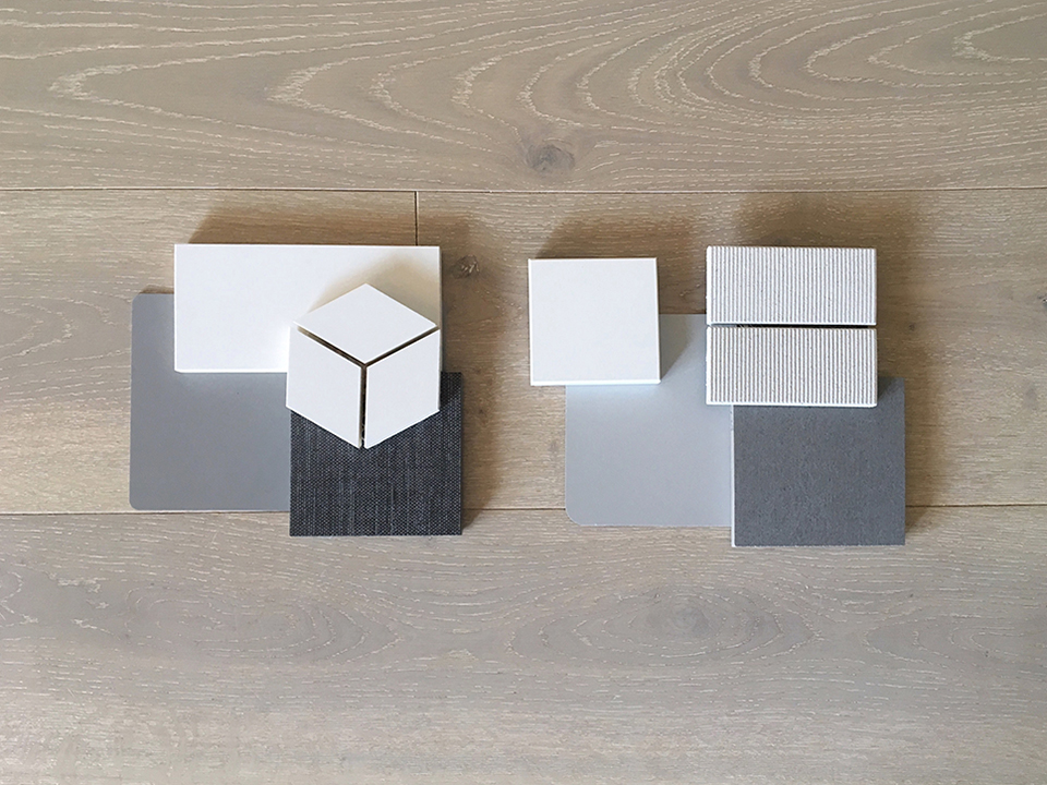 [ modern interior finishes / material palette preview ]