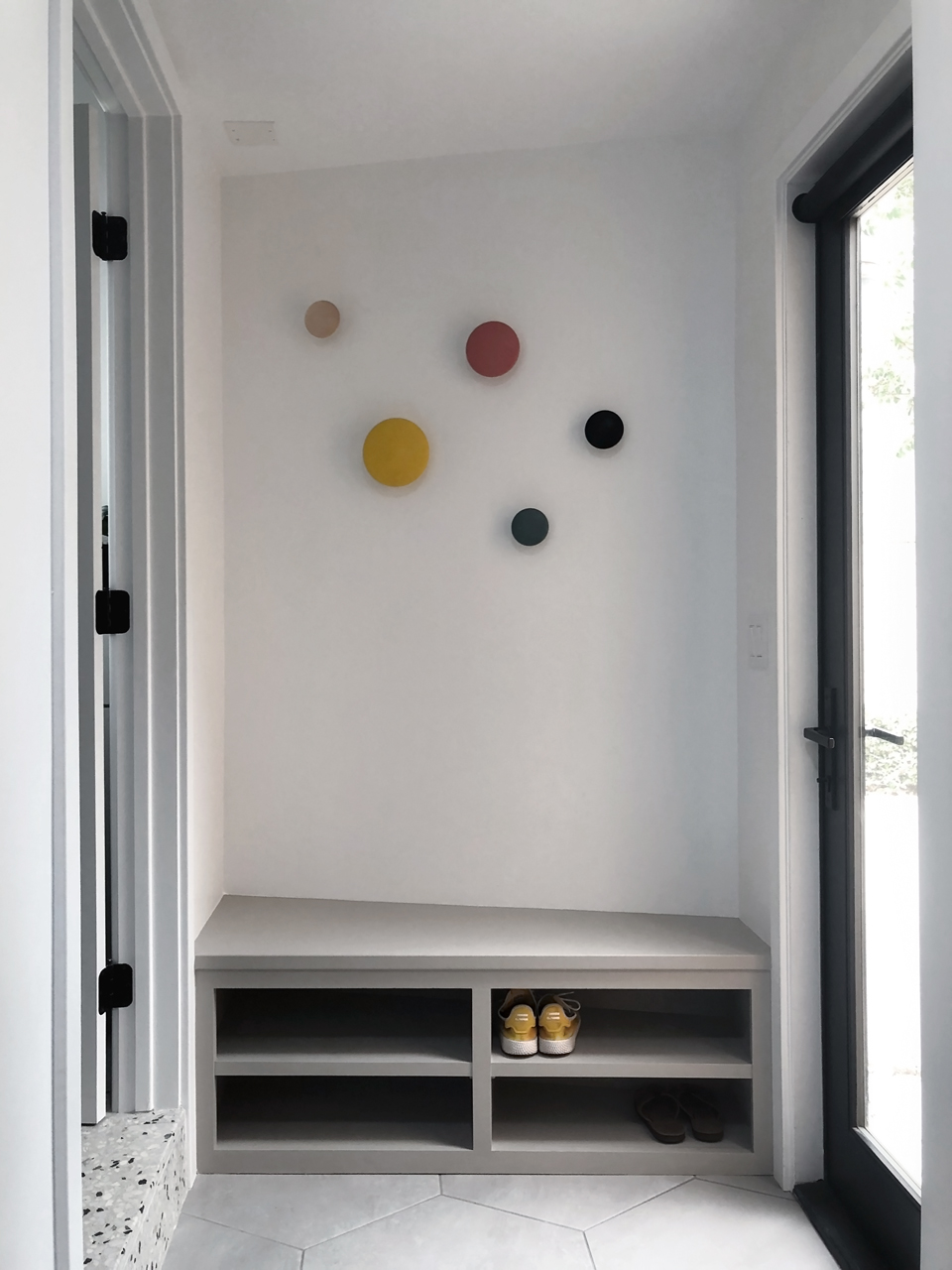 entryway storage / dana point