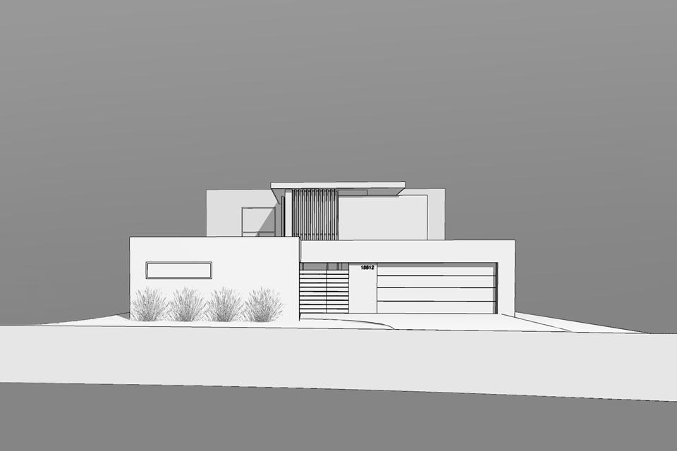 design rendering / modern addition + renovation