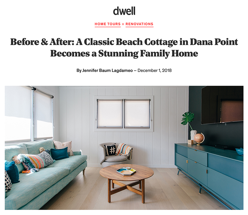 MYD on Dwell / before + after