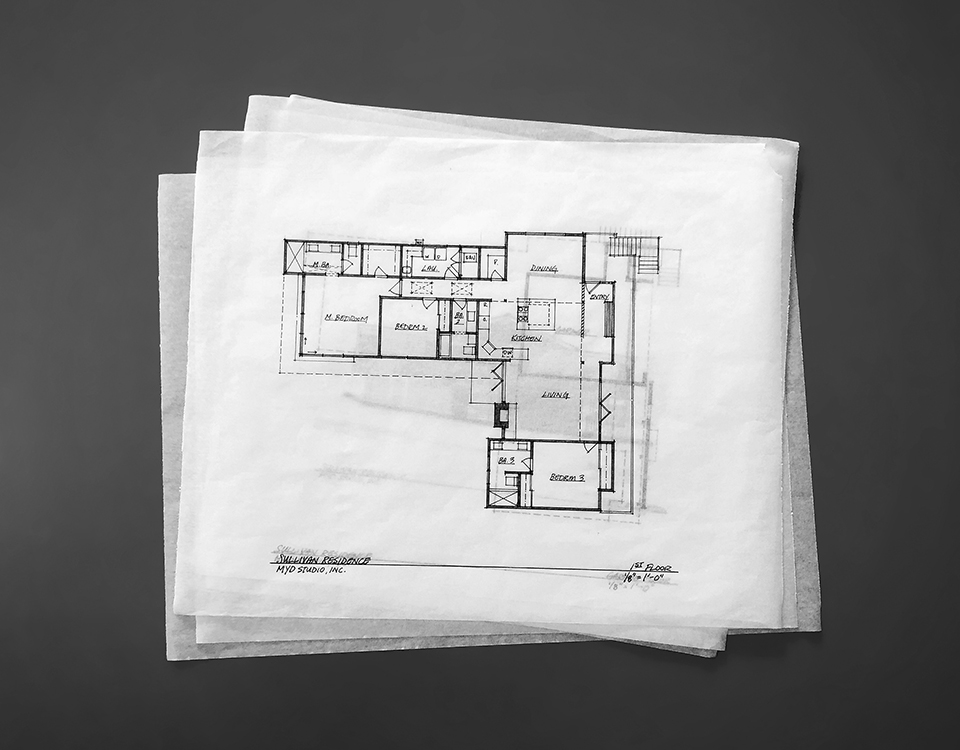 architectural sketches + project preview