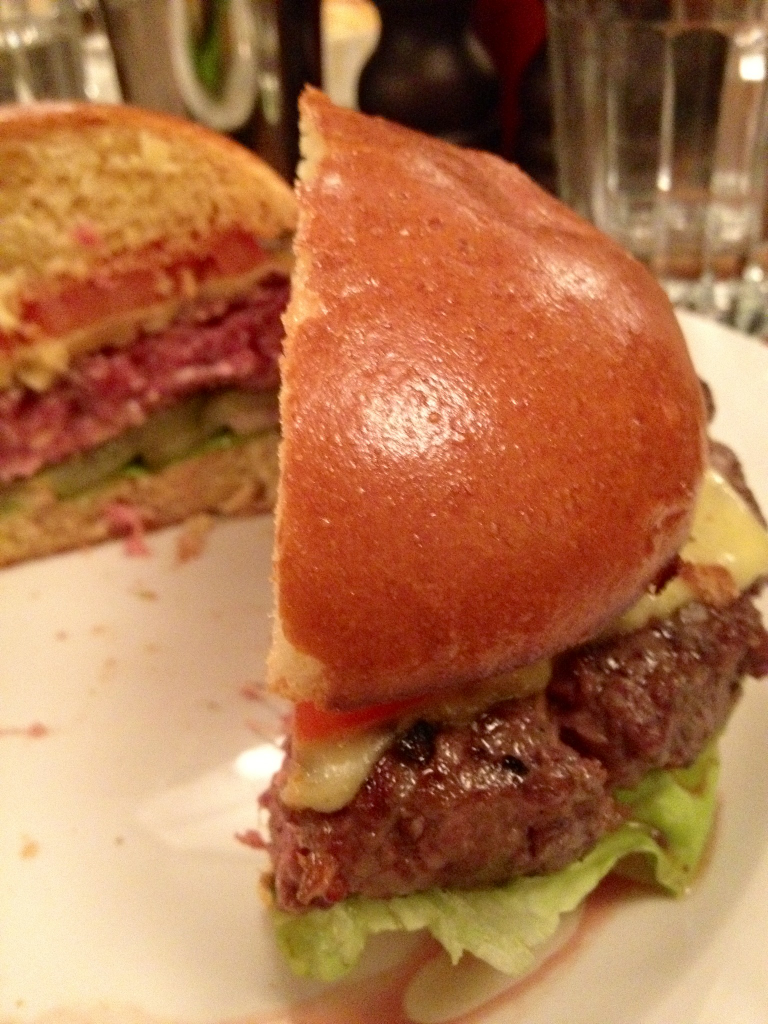 Finally had it.    (Yes, that's the Hawksmoor burger. It's going to be a Hawksmoor-heavy week.)