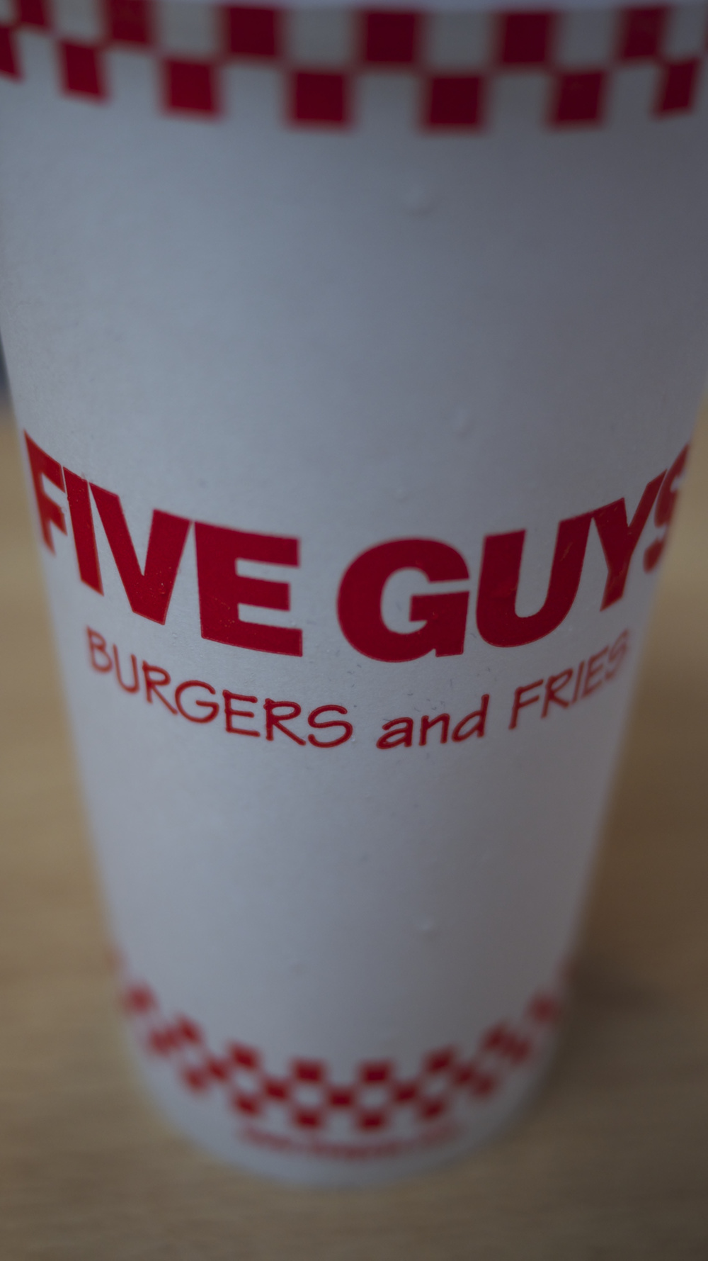 Five Guys Cup