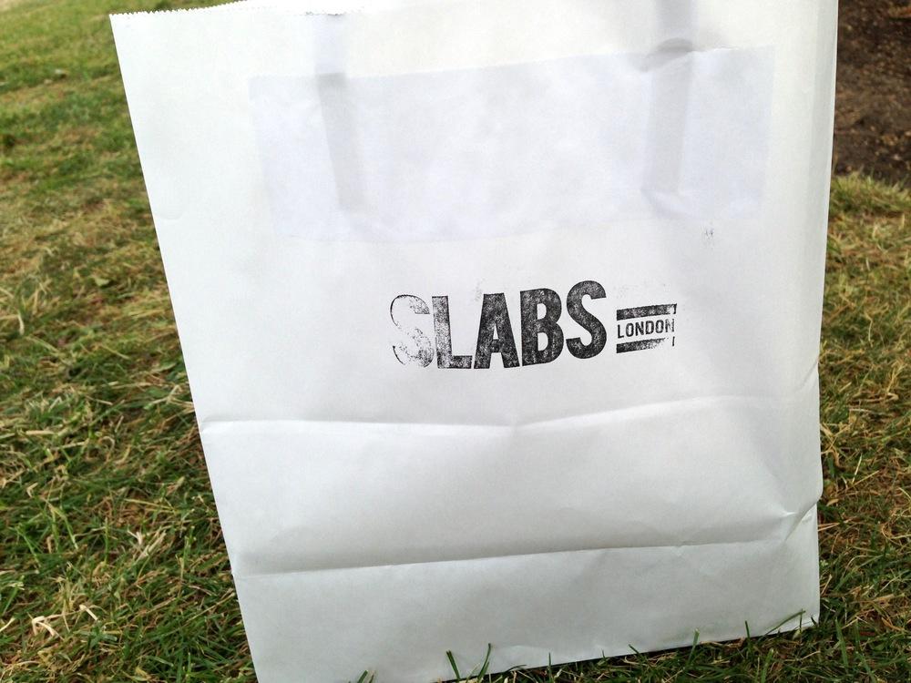 Slabs takeaway bag