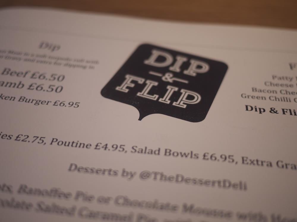 Dip Flip Menu