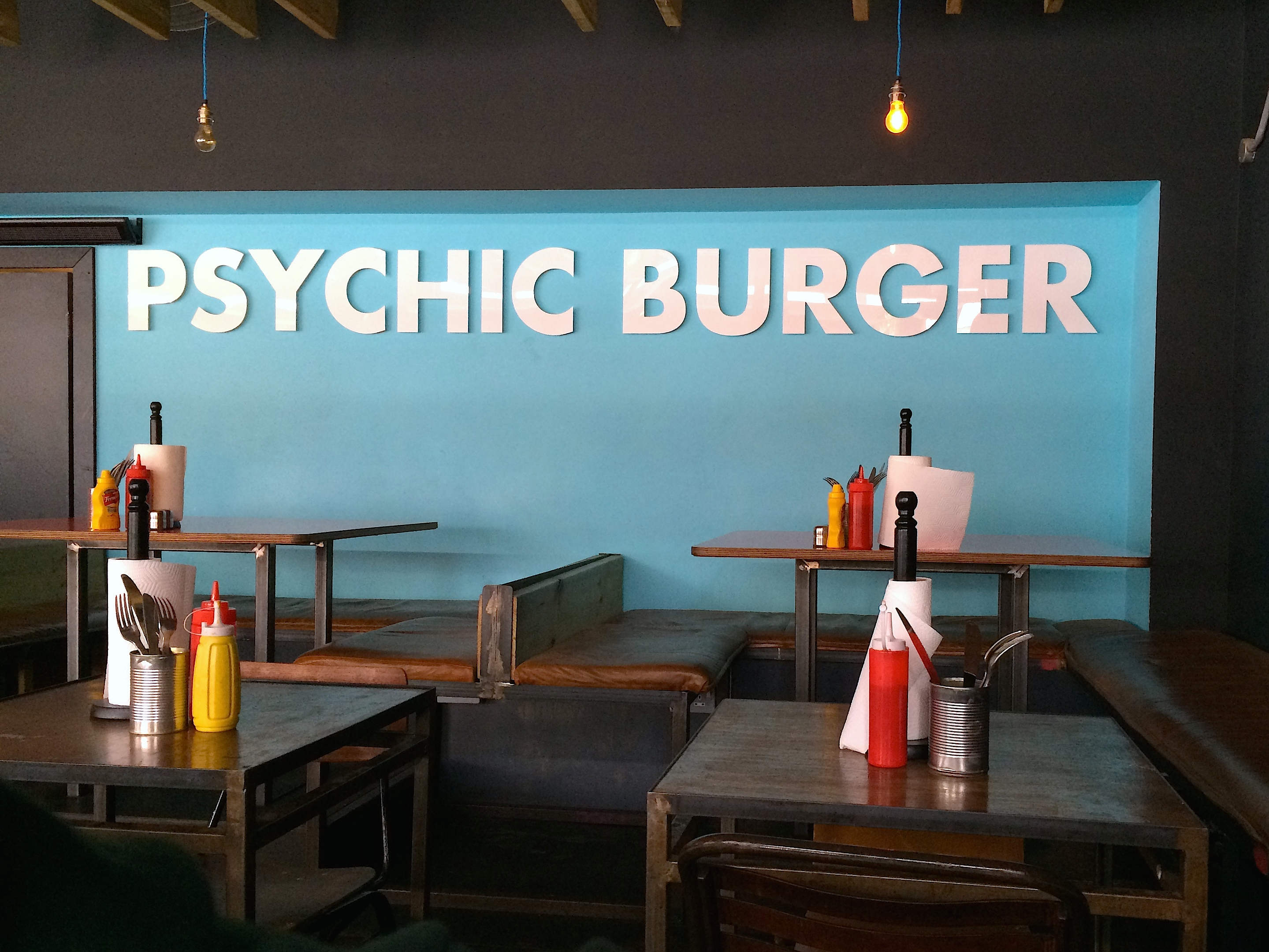 Psychic Burger / Dalston, London — Burger Anarchy