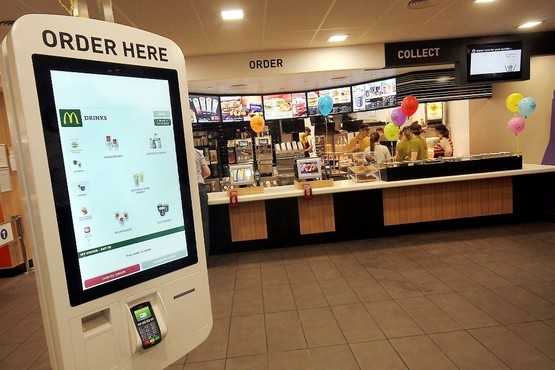 I, for one, welcome our new robot overlords (McDonald's Lichfield)