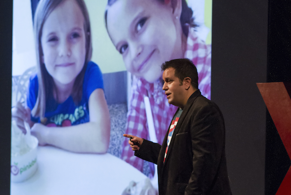 "John Marcotte at TEDxSacramentoSalon, December 2014, ""This Changes Everything: Women"""