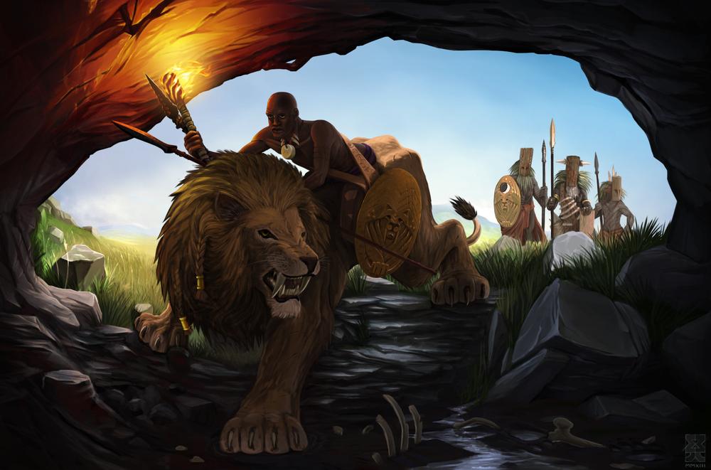 """""""Lion Rider"""" - Final*"""