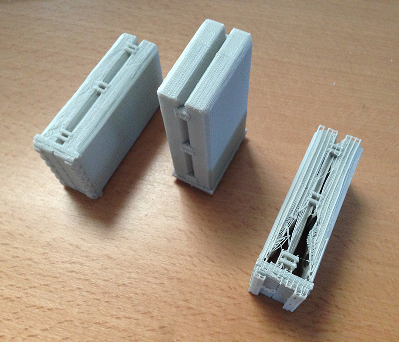 Rocket Launcher - Attempt 5, 6 and 7 (Print bed side facing up)