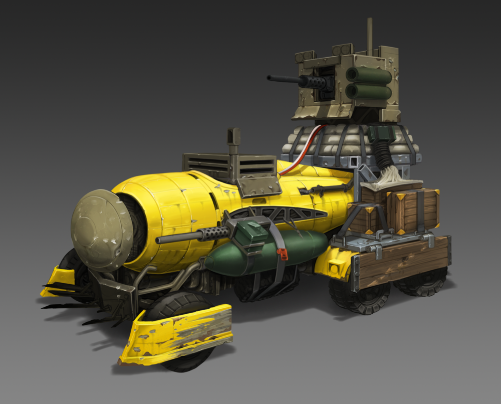 Wasteland Vehicle WIP 7