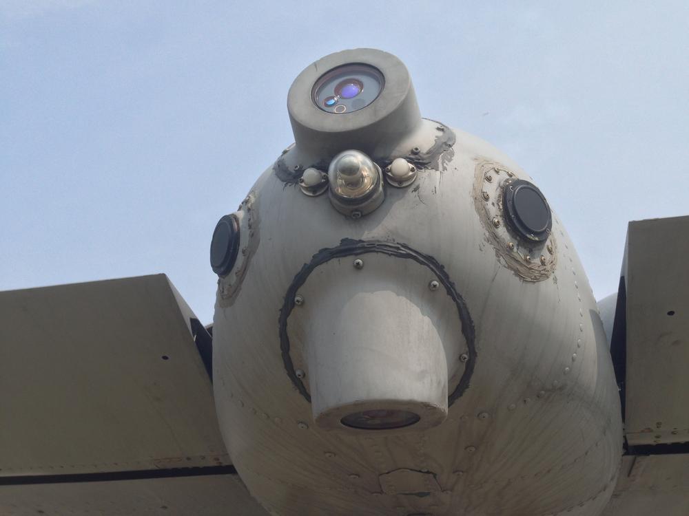 The A10's rear sensors