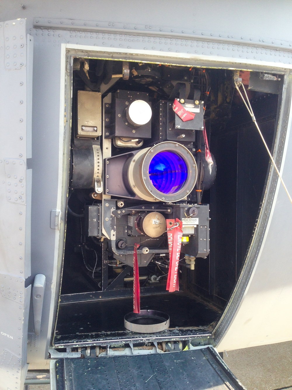 The AC-130's forward sensors