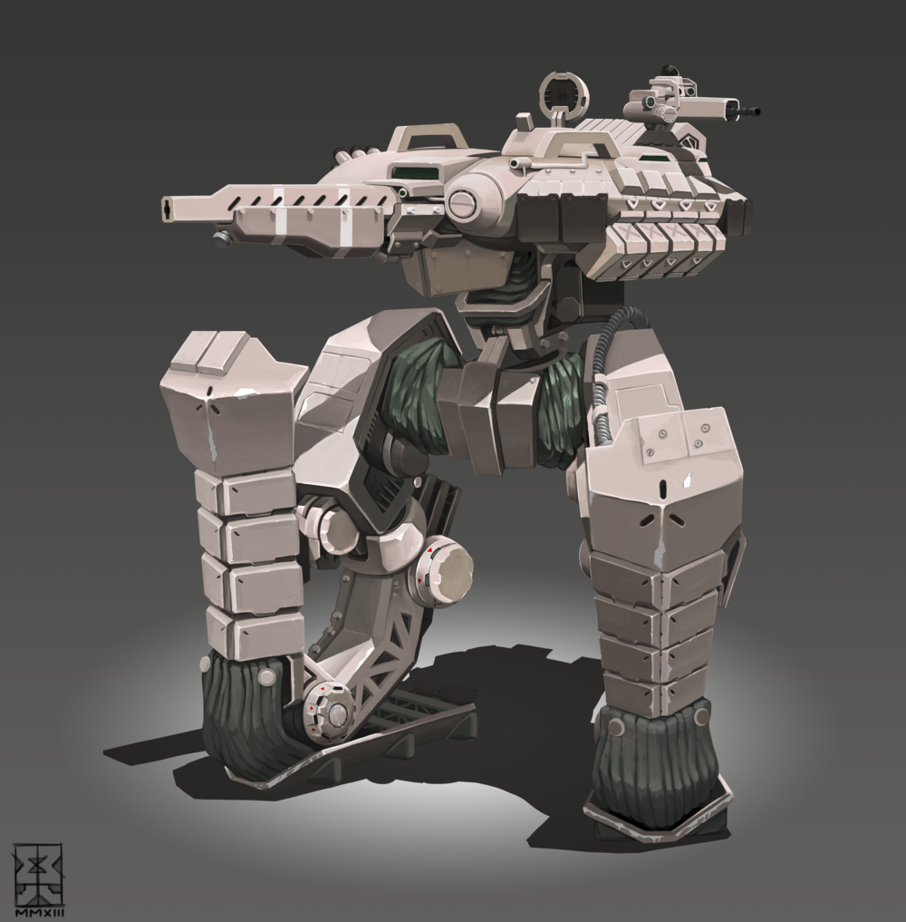 I like robots (maybe TOO much...)but often times the idea of arms and a head just seem unnecessary.