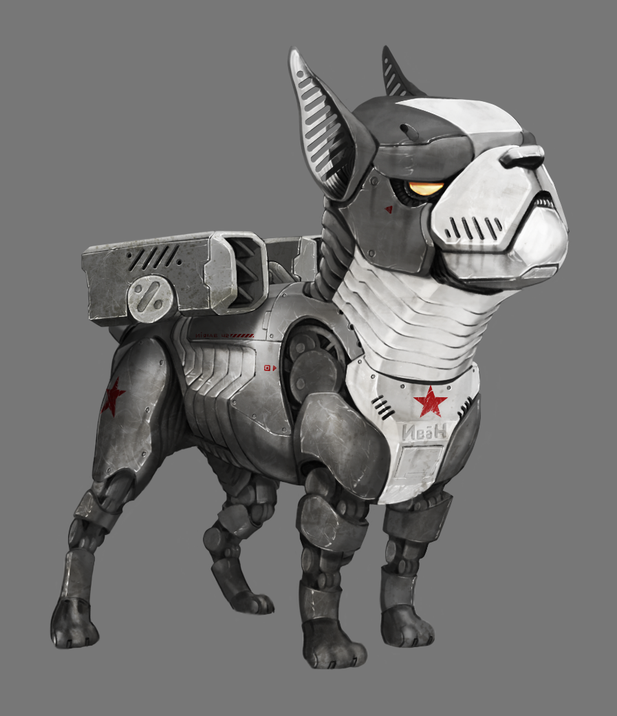Robot animals! Created for an unreleased movie pitch.