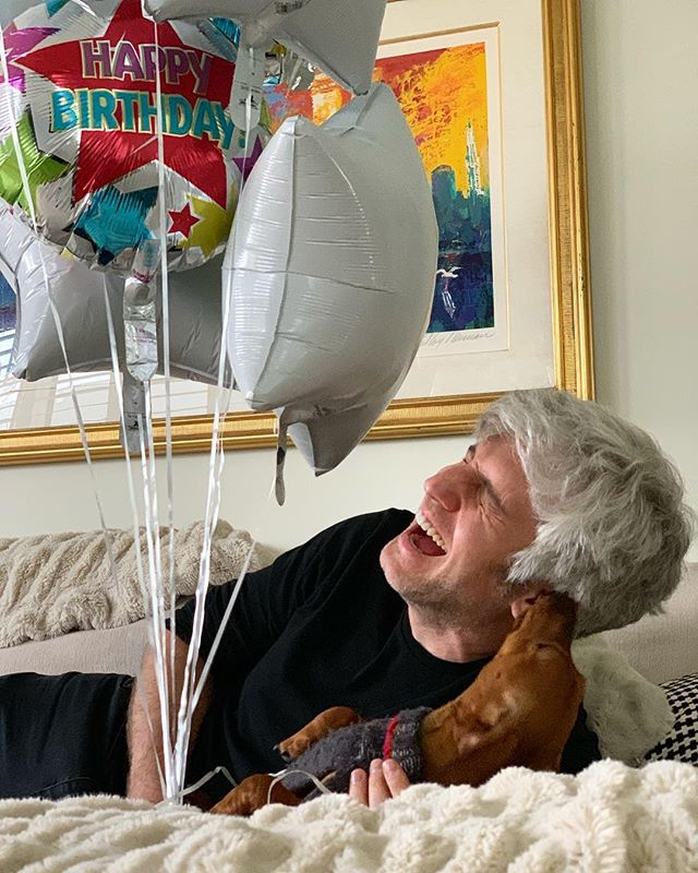 Thank you for all the birthday wishes! I'm a lucky guy.