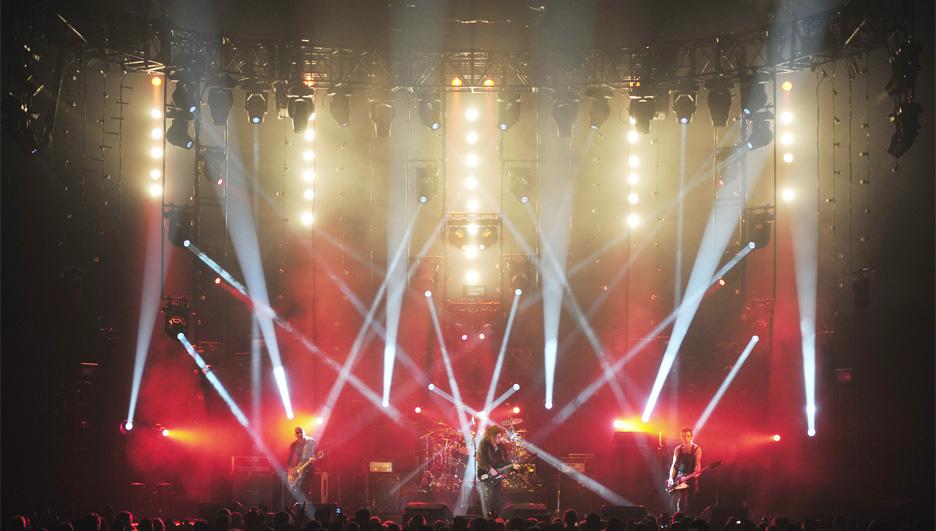 The Cure. Four Tour