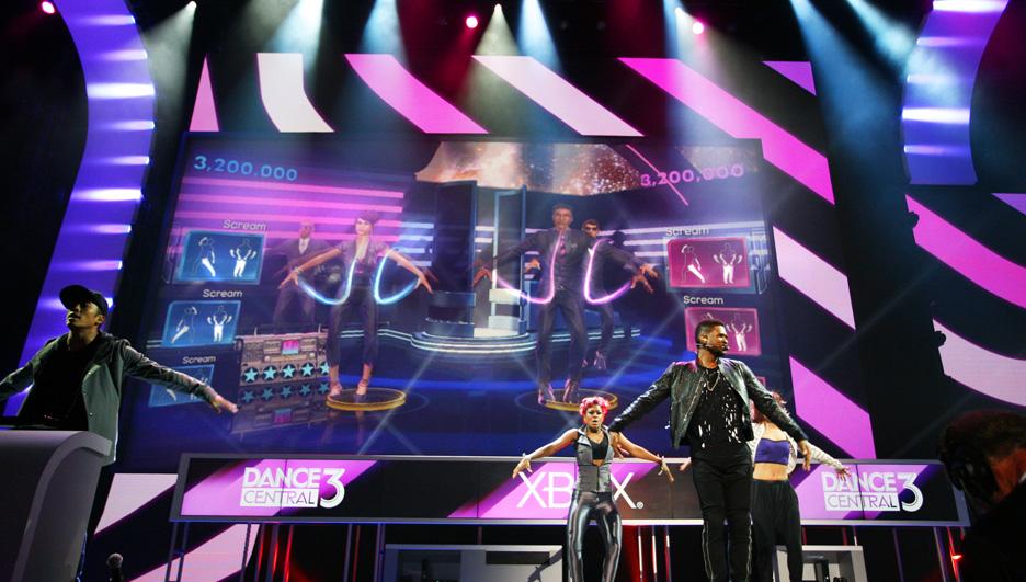 Usher Xbox E3 2012