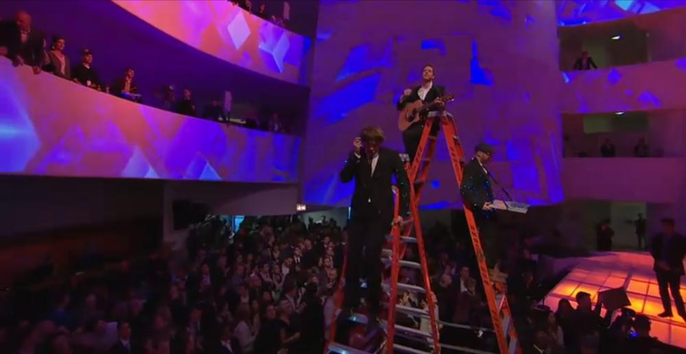 YouTube Play Live at the Guggenheim. OK Go