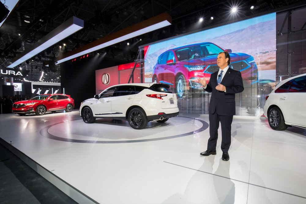 2019 Acura RDX at the 2018 New York International Auto Show