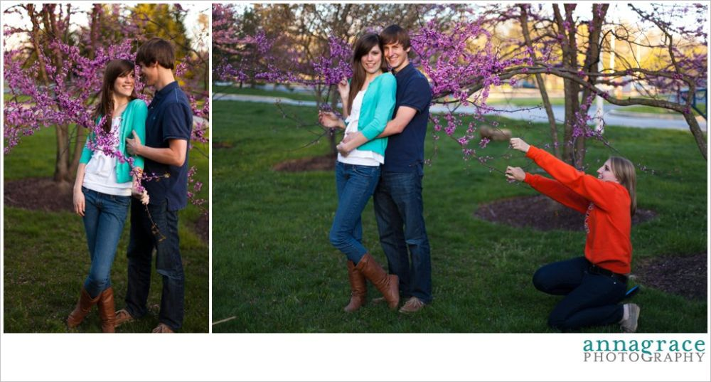 My sister helped hold the tree back for these shots! Thanks Erin!