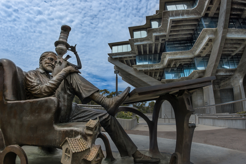 The Geisel Library—University of California San Diego