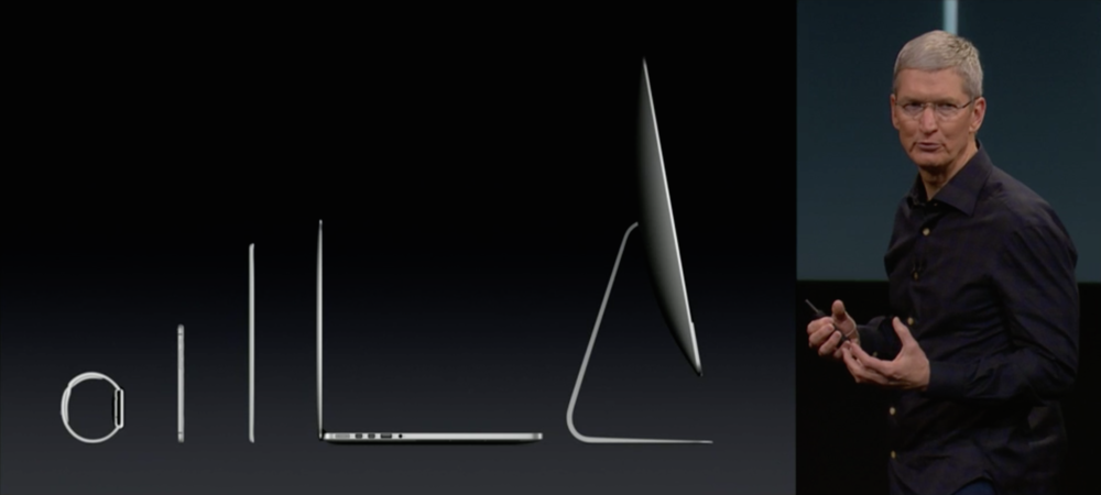 Apple's 2015 Lineup — Keynote Presentation, Thursday, October 16, 2014