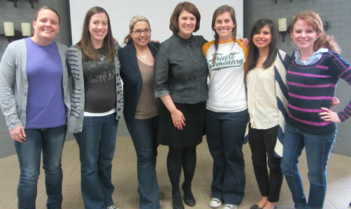 Me with the smart, over-achieving ladies of Truett Seminary - a reminder that things are changing for the better