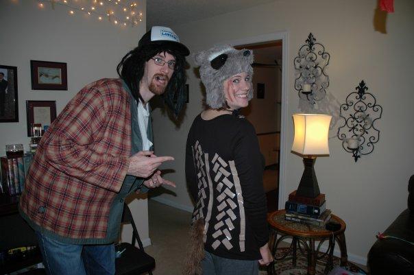 Halloween 2009: Truck Driver & Road Kill