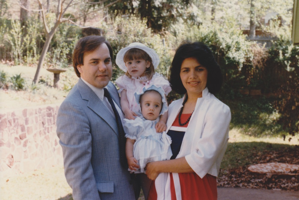Easter Bonnets Circa 1985
