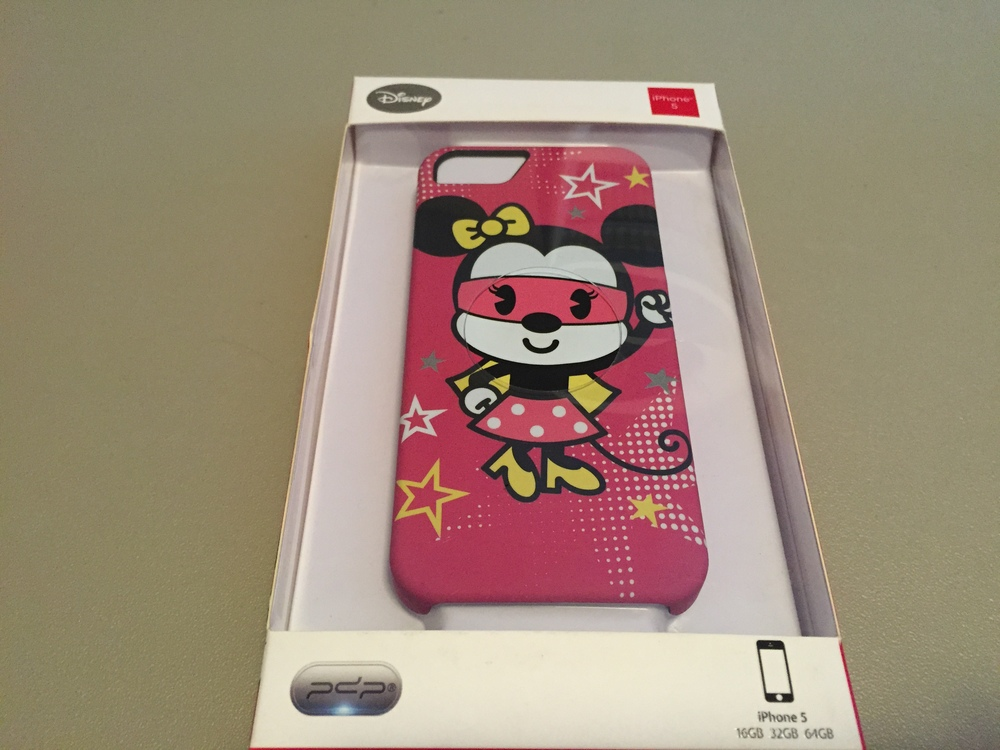 Minnie Mouse is featured on this iPhone 5 case!