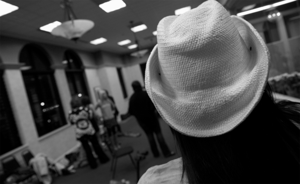 Backstage Winter Fashion Show 2013