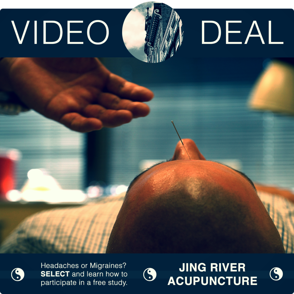 SELECT   to watch Dr. Yu talk about treating someone with headaches and migraines at Jing River Acupuncture.