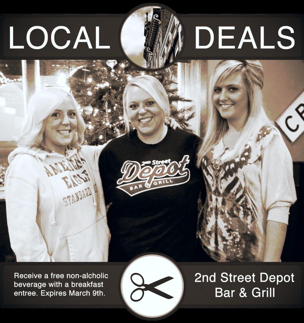 2nd Street Depot Bar & Grill