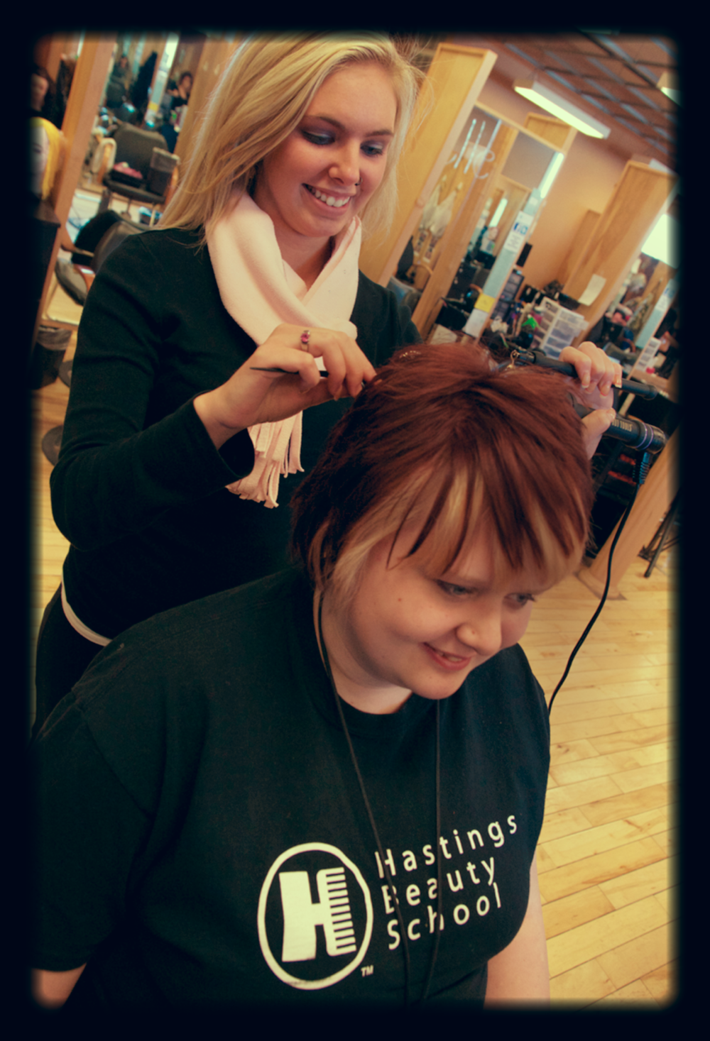 SELECT   to learn more about Hastings Beauty School.