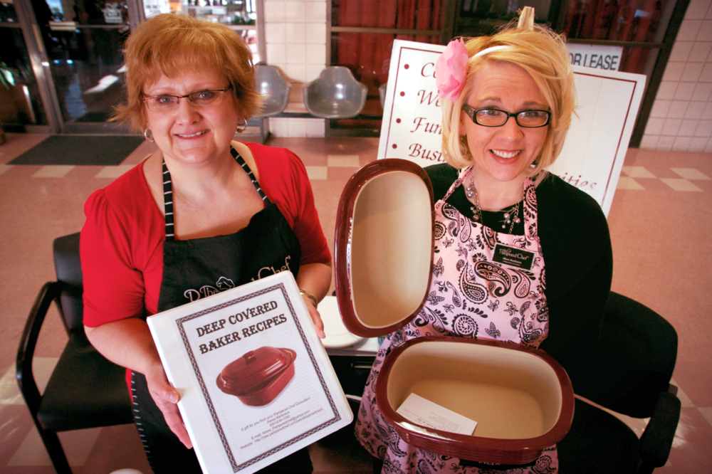 Deb and Alissa with Pampered Chef