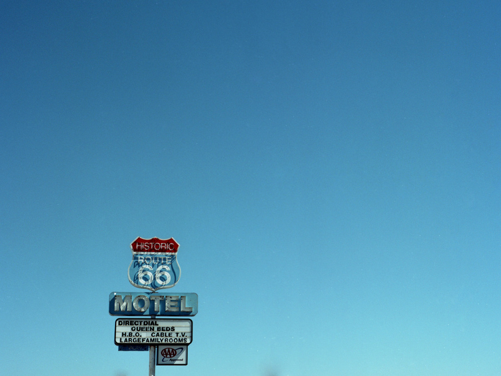 SELIGMAN, AZ / MAMIYA AFDII / PORTRA 160