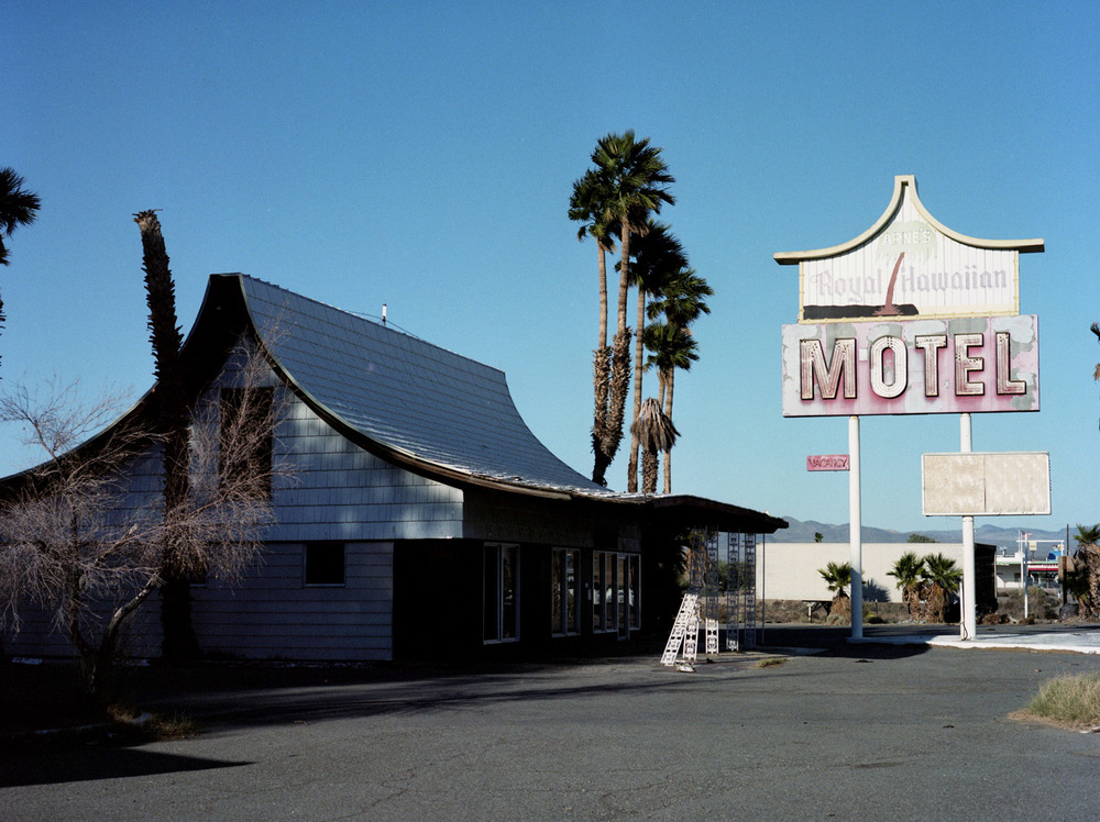 BARSTOW, CA / MAMIYA AFDII / PORTRA 160