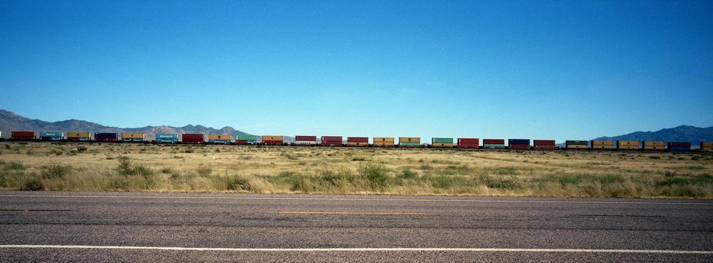 KINGMAN, AZ / HASSELBLAD XPAN / PORTRA 400