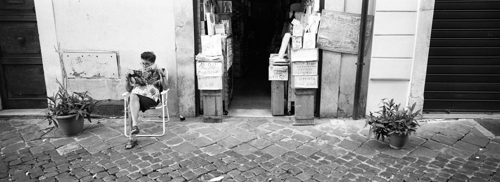 ROME / HASSELBLAD XPAN / TRI-X