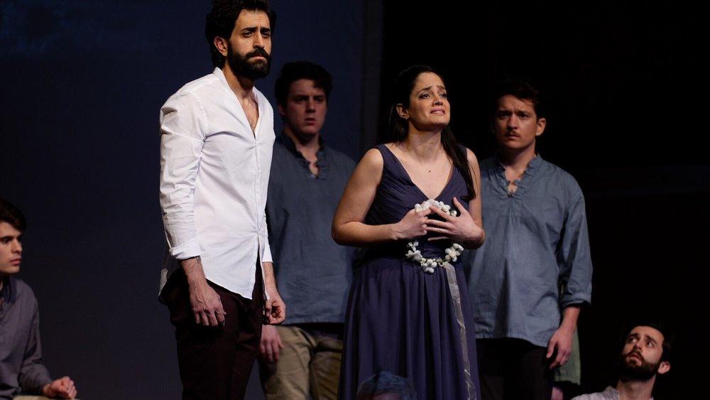 Messagiera in Monteverdi's Orfeo