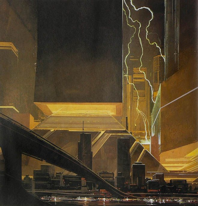 Blade Runner concept, Syd Mead (all rights reserved)
