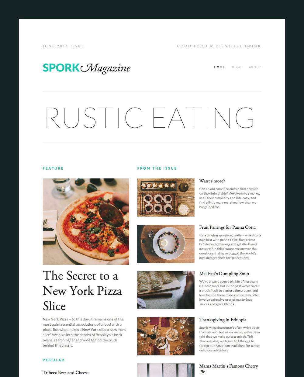 Magazine Style Layouts Courtesy Of Our New Summary Block The