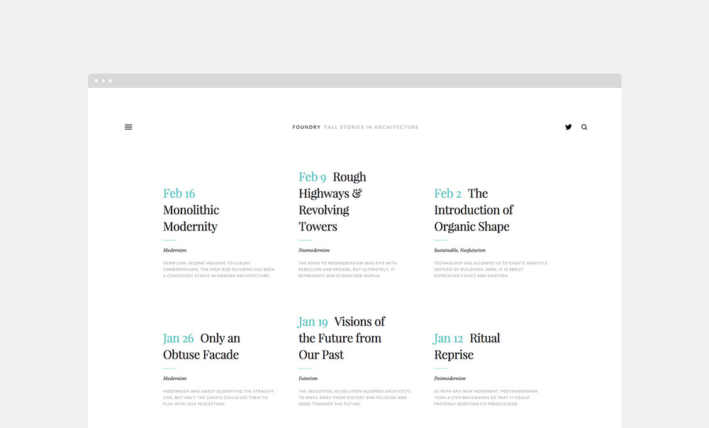 Introducing Five Magazine-Style Templates — The Official Squarespace ...