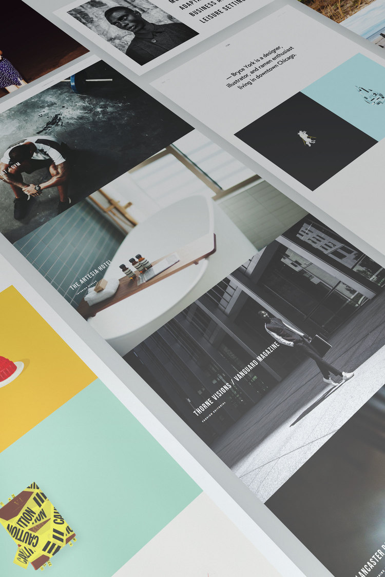 Introducing Two New Portfolio Templates The Official Squarespace Blog - Squarespace portfolio templates