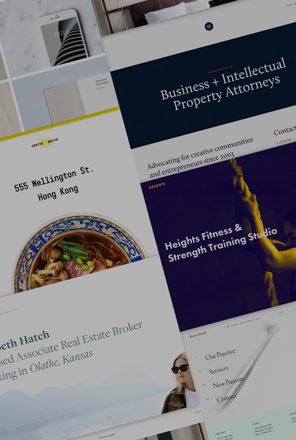 7 new templates for businesses and professional services the 7 new templates for businesses and professional services the official squarespace blog fbccfo Gallery