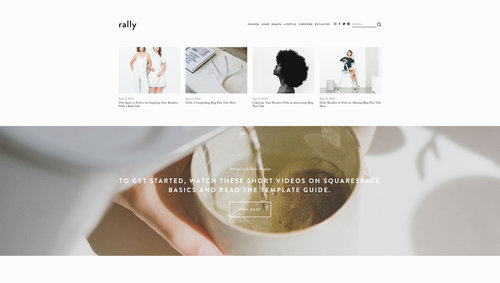 3 new small business templates from g suite x squarespace the even more ways to make your business look professional online so we collaborated with them to create three new templates rally foster and feed fbccfo Gallery