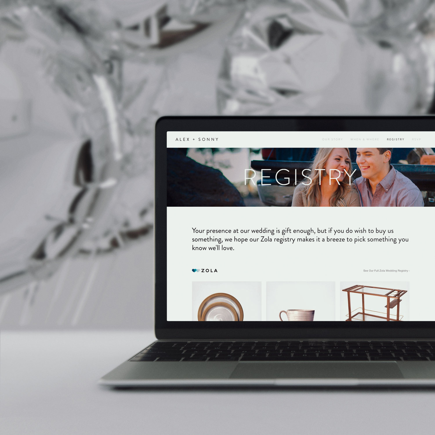 Zola for Wedding Websites — The Official Squarespace Newsroom